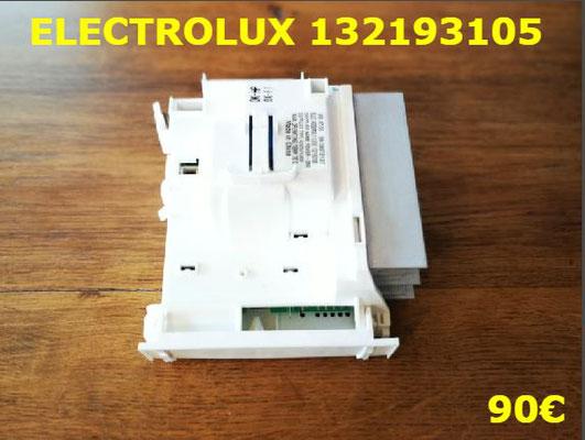 CARTE DE PUISSANCE LAVE-LINGE : ELECTROLUX 132193105