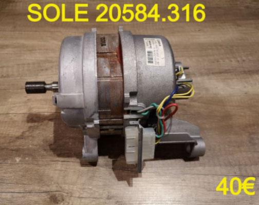 MOTEUR LAVE-LINGE : SOLE 20584.316