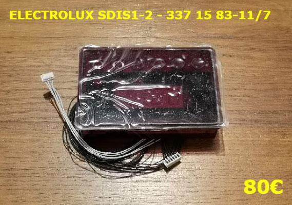 AFFICHEUR DE FOUR : ELECTROLUX SDIS1-2 - 337 15 83-11/7