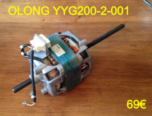 MOTEUR SÈCHE-LINGE : OLONG YYG200-2-001