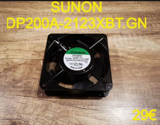 VENTILATEUR DE CUISSON : SUNON DP200A-2123XBT.GN