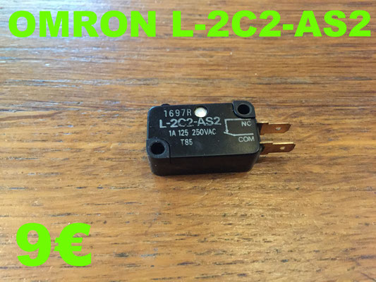 MICRO-SWITCH : OMRON L-2C2-AS2