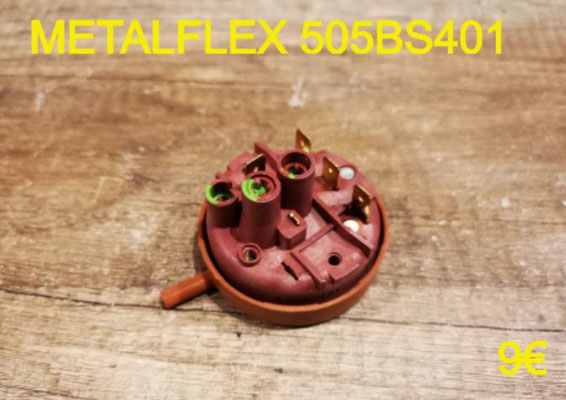 PRESSOSTAT : METALFLEX 505BS401