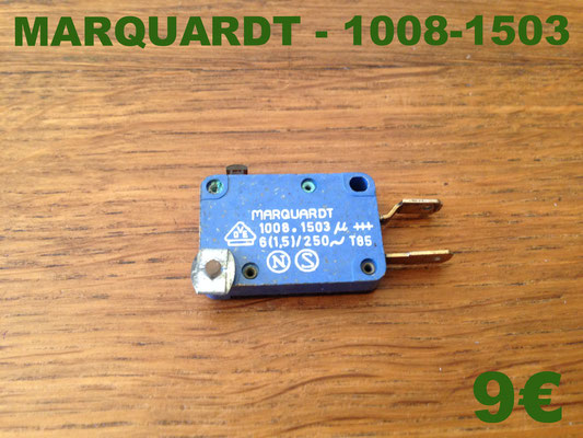 MICRO-SWITCH : MARQUARDT 1008-1503