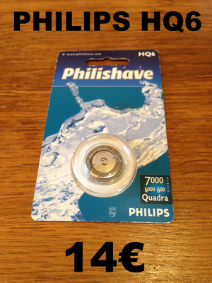 LAME DE RASOIR : PHILIPS HQ6 1 TÈTE