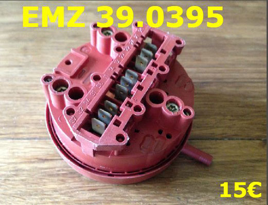 PRESSOSTAT : EMZ 39.0395