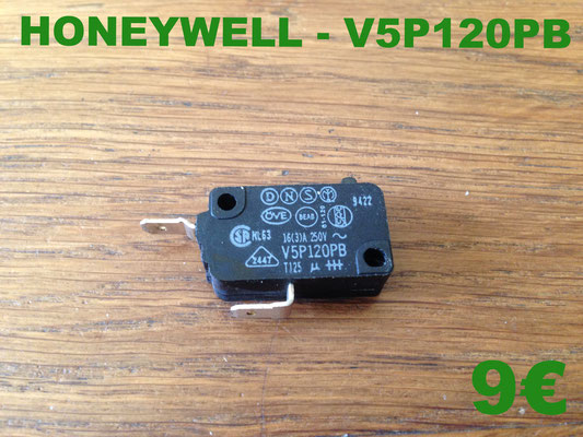 MICRO-SWITCH : HONEYWELL V5P120PB