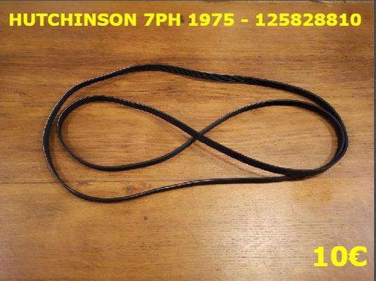 COURROIE SÈCHE-LINGE : HUTCHINSON 7PH1975 - 125828810