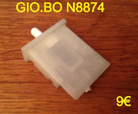INTERRUPTEUR : GIO.BO N8874