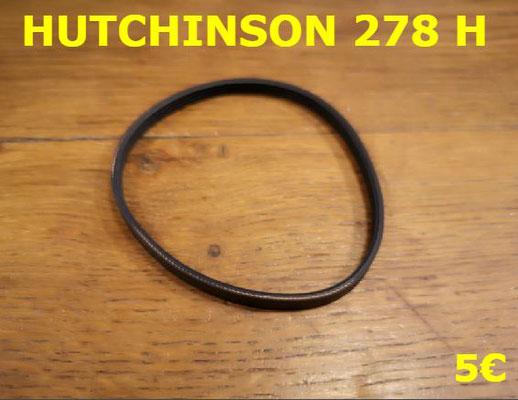 COURROIE SÈCHE-LINGE : HUTCHINSON 278H