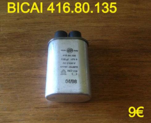 CONDENSATEUR MICRO-ONDES : BICAI 416.80.135