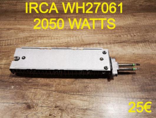 RÉSISTANCE SÈCHE-LINGE : IRCA WH27061 2050 WATTS