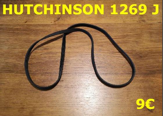 COURROIE LAVE-LINGE : HUTCHINSON 1269J