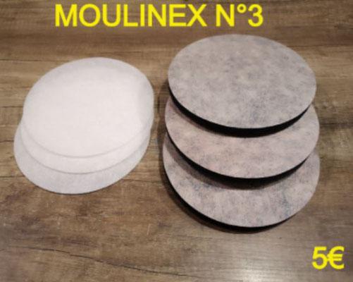 FILTRE DE FRITEUSE : MOULINEX NUMERO 3