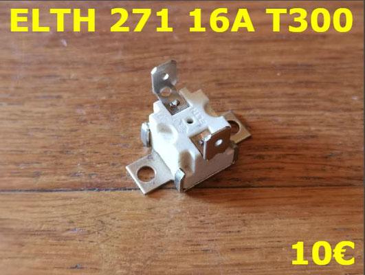 KLIXON : ELTH 271 16A T300