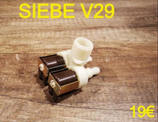 ÉLECTROVANNE 2 VOIE SORTIE 90° : SIEBE V29