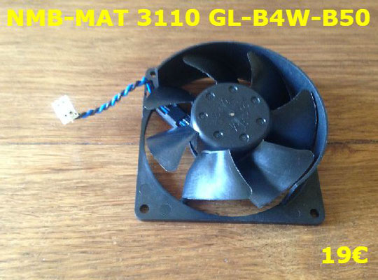 VENTILATEUR PLAQUE VITROCÉRAMIQUE : NMB-MAT 3110GL-B4W-B50