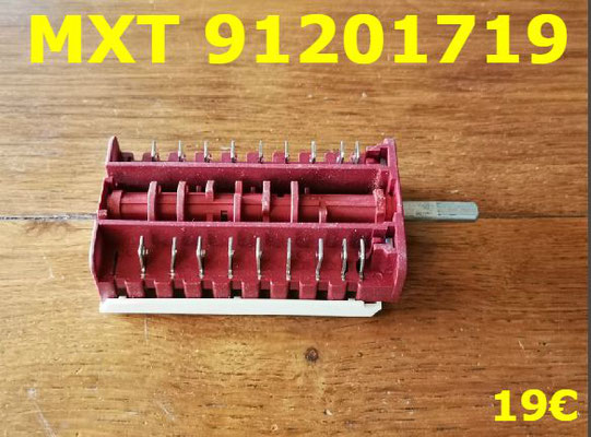 COMMUTATEUR : MXT 91201719