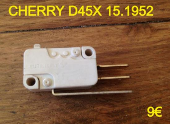 MICRO-SWITCH : CHERRY D45X 15.1952 3 COSSES