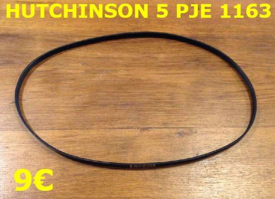 COURROIE LAVE-LINGE : HUTCHINSON 5PJE1163