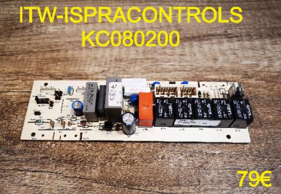 CARTE DE PUISSANCE FOUR : ITW-ISPRACONTROLS KC080200