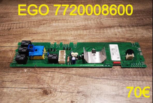 CARTE DE COMMANDE LAVE-LINGE : EGO 7720008600