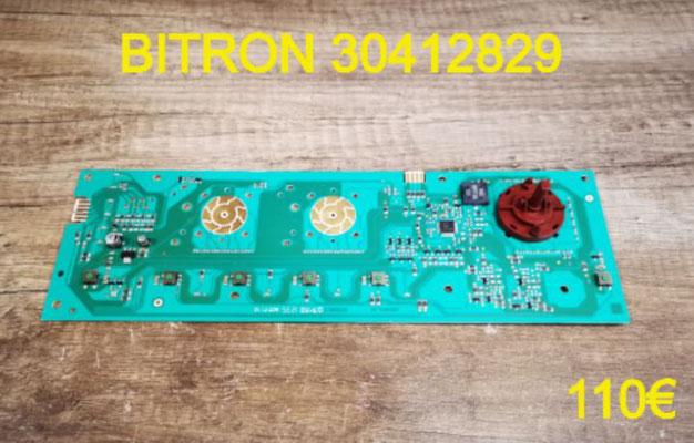 CARTE DE COMMANDE SÈCHE-LINGE : BITRON 30412829