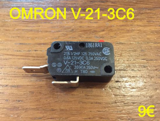 MICRO-SWITCH : OMRON V-21-3C6