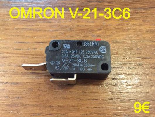 MICRO-SWITCH : OMRON V-21-3C6