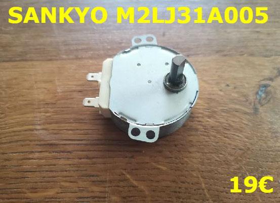 MICRO-MOTEUR PLATEAU DE MICRO-ONDES : SANKYO M2LJ31A005