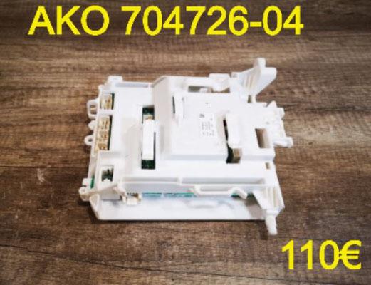 CARTE DE PUISSANCE LAVE-LINGE : AKO 704726-04