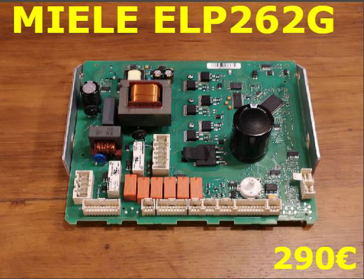 CARTE DE PUISSANCE LAVE-LINGE : MIELE ELP262G
