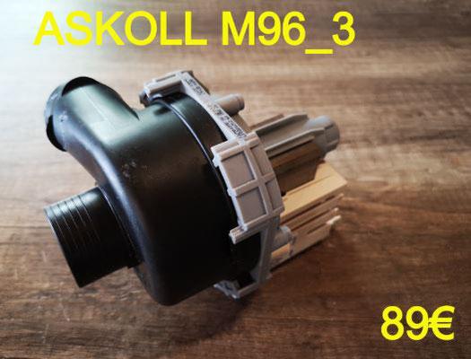 POMPE DE CYCLAGE LAVE-VAISSELLE : ASKOLL M96_3
