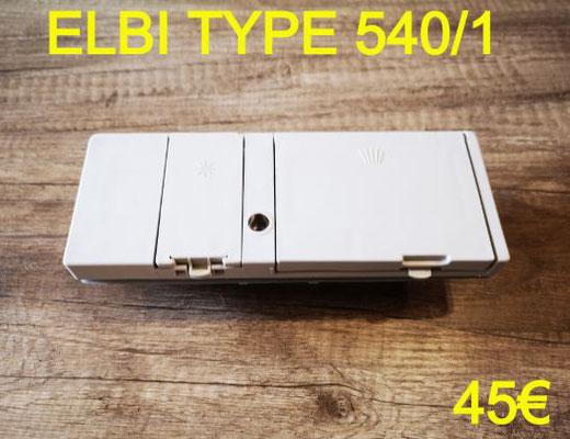 BOITE A PRODUITS LAVE-VAISSELLE : ELBI TYPE 540/1