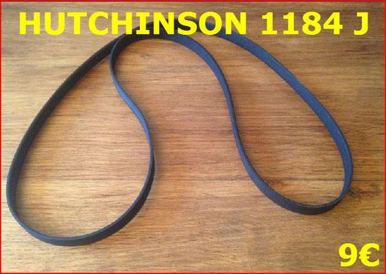 COURROIE LAVE-LINGE : HUTCHINSON 1184J