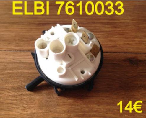PRESSOSTAT : ELBI 7610033