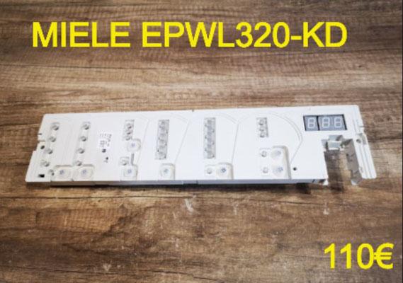 CARTE DE COMMANDE LAVE-LINGE : MIELE EPWL320-KD