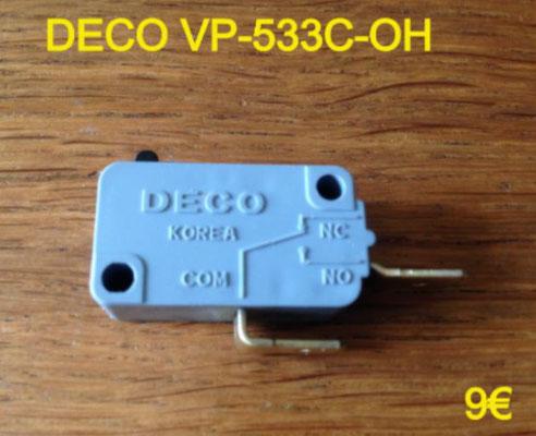 MICRO-SWITCH : DECO VP-533C-OH