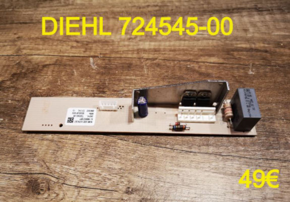 CARTE DE COMMANDE FRIGO : DIEHL 724545-00