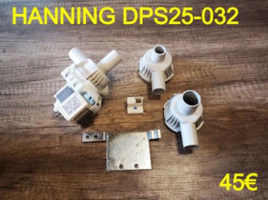 POMPE DE VIDANGE : HANNING DPS25-032