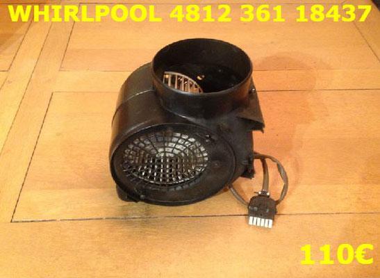 MOTEUR DE HOTTE : WHIRLPOOL 481236118437