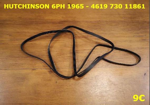 COURROIE SÈCHE-LINGE : HUTCHINSON 6PH1965 - 461973011861