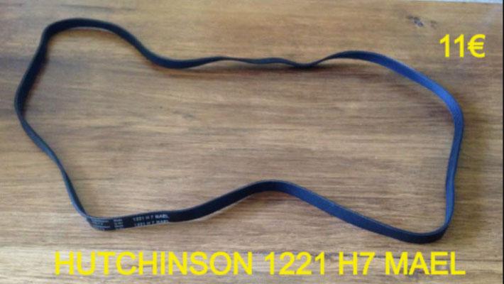 COURROIE LAVE-LINGE : HUTCHINSON 1221 H7 MAEL