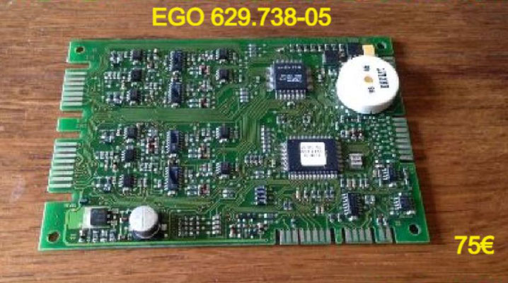 CARTE DE PUISSANCE PLAQUE VITROCÉRAMIQUE : EGO 629.738-05