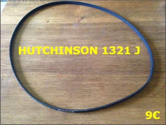 COURROIE LAVE-LINGE : HUTCHINSON 1321J