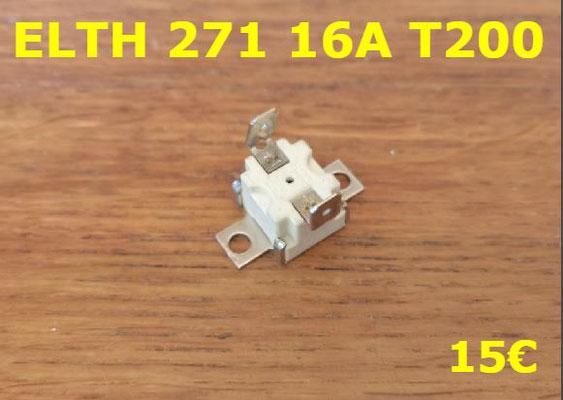 KLIXON : ELTH 271 16A T200