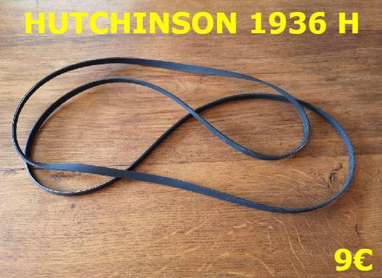 COURROIE SÈCHE-LINGE : HUTCHINSON 1936H