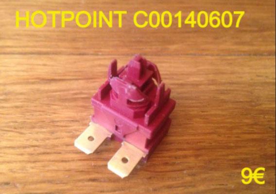 INTERRUPTEUR : HOTPOINT C00140607