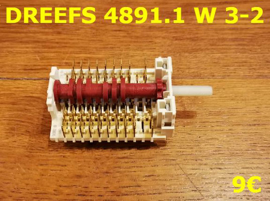 COMMUTATEUR : DREEFS 4891.1W3-2