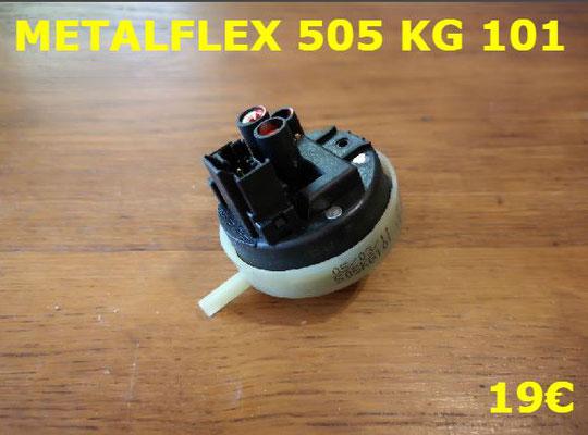 PRESSOSTAT : METALFLEX 505KG101
